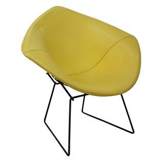 Bertoia Yellow Diamond Lounge Chair by Knoll