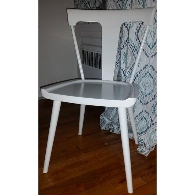 West Elm Splat Chair Set Of 4 Chairish