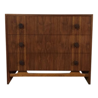 Brown Saltman Mid-Century Teak Dresser