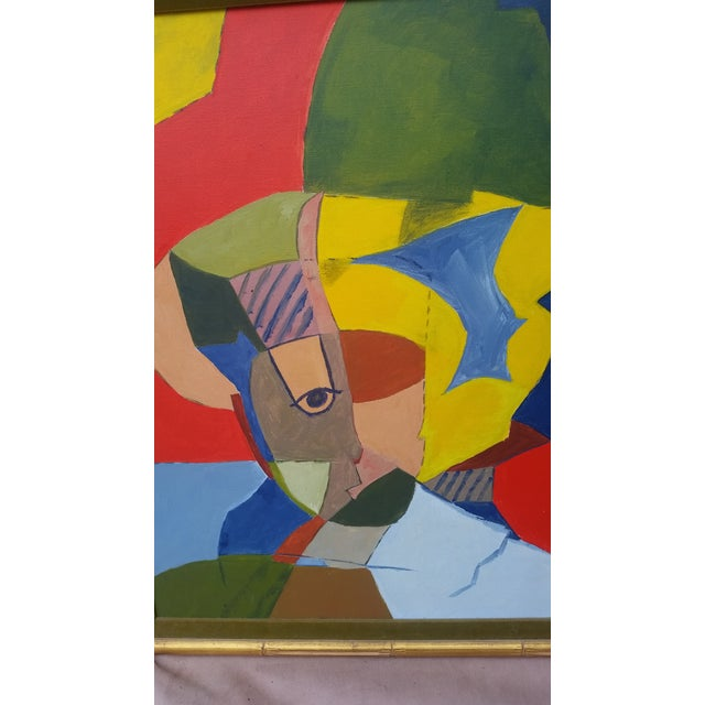 Vintage Abstract Painting From the 1960s - Image 4 of 8