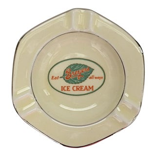 Breyer Ice Cream Ceramic Ashtray
