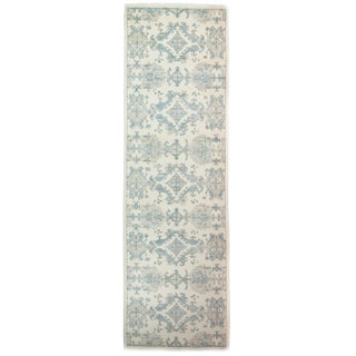 """Traditional Hand Knotted Runner - 3'2"""" X 10'2"""""""
