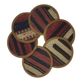 Kilim Coasters Set of 6 | Naz