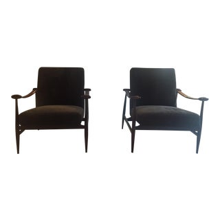 1960s Brazilian Armchairs - A Pair