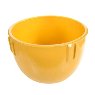 Bauer Original 1915 Indian Pot, Glazed Yellow