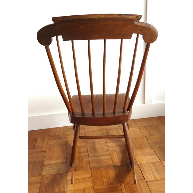 Antique Primitive Rocking Chair - Image 7 of 8