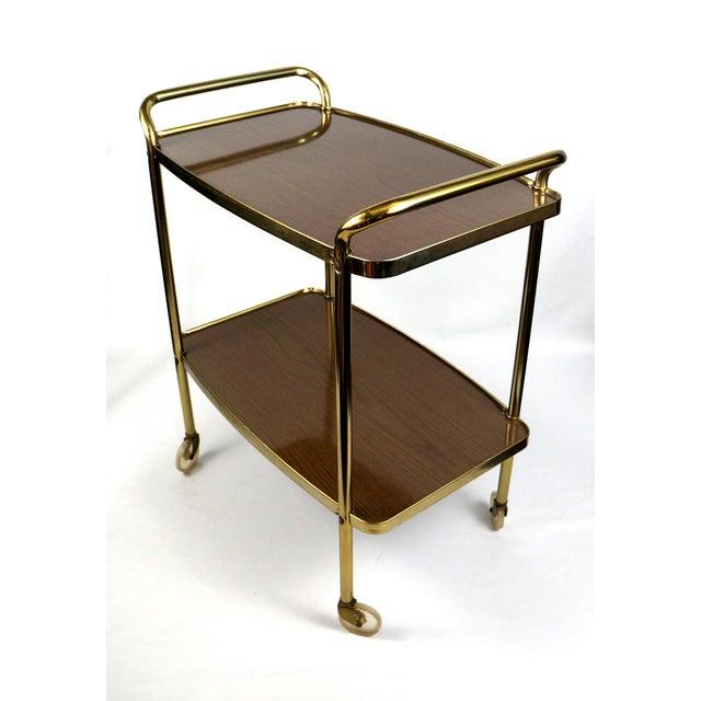 Image of Cosco Mid-Century Modern Bar Cart
