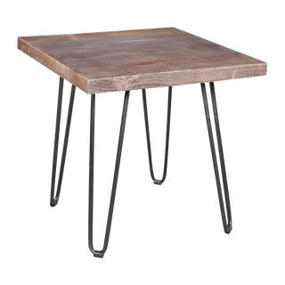 Handcrafted Mango Wood End Table