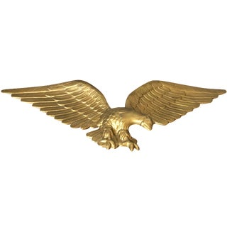 Vintage Gold Metal Eagle