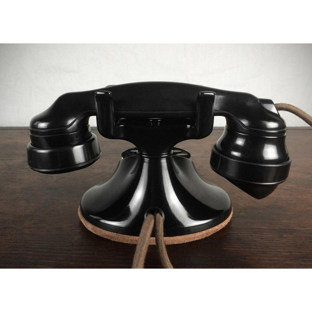 1930s Refurbished Deco Working Telephone - Image 4 of 4