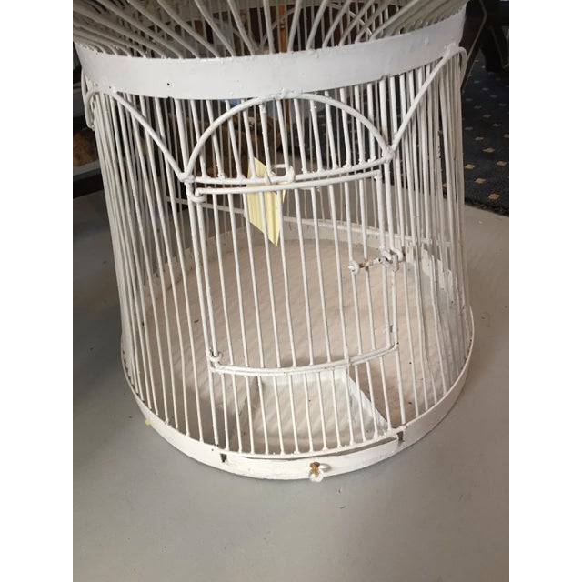 Bird Cage Side Table Chairish
