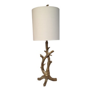 Metallic Branch Base Lamp