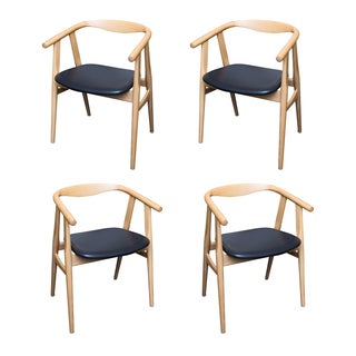 Hans Wegner 525 Chairs in Oak - 4