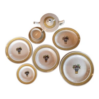 "Wedgwood ""Directoire"" China Dinner Set - Set of 17"