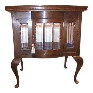 Antique Mahogany Chocolate Display Table