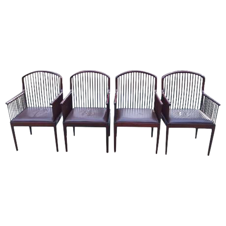 Perfect Vintage Davis Allen For Stendig Andover Chairs  Set Of 4   Image 1 Of 11