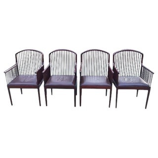 Vintage Davis Allen for Stendig Andover Chairs- Set of 4
