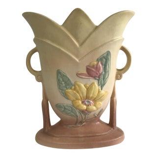1940s Hull Magnolia Matte Glaze Vase