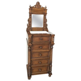 Louis XVI Mahogany Dressing Table