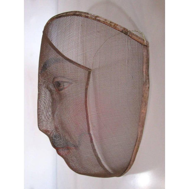 Image of Early 1900's French Pantomime Masks - Pair