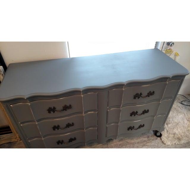 Image of Vintage Refinished French Provincial Dresser