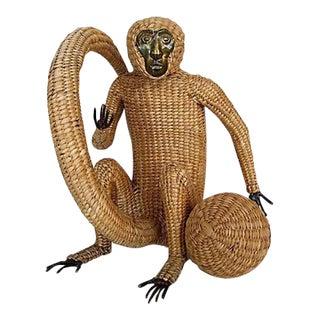 Mario Lopez Torres, Monkey With Ball