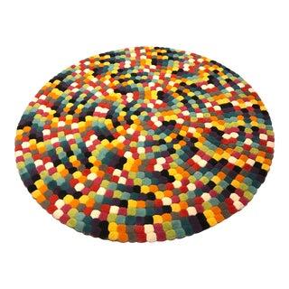 "BoConcept Siglo Multi-Colored Round Rug -- 4'11"" x 4'11"""