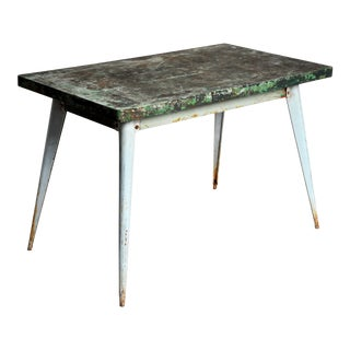 "Industrial Work Table ""Tolix"" Brand"