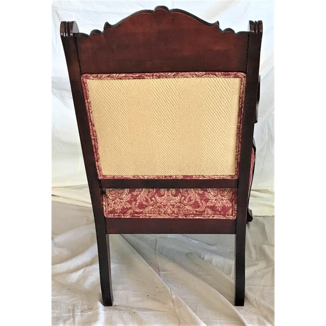 Empire Revival His & Hers Chairs - a Pair - Image 7 of 11