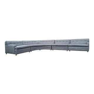 Vintage Gray 4 Piece Sectional Sofa
