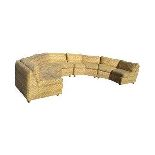 Milo Baughman Style Monumental Sofa