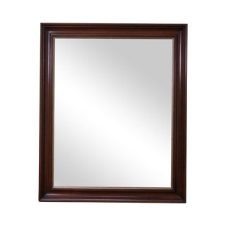 Henkel Harris Solid Mahogany O.G. Frame Wall Mirror