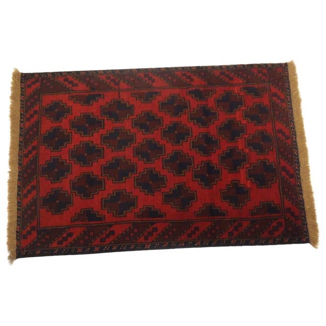 Baluch Red Rug - 3' x 5' - Image 6 of 6