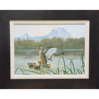 Original Wildlife Painting by Ed Totten