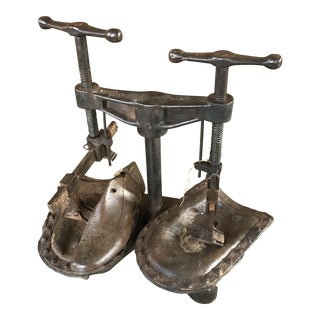 Antique Cobbler's Shoe Sole Press