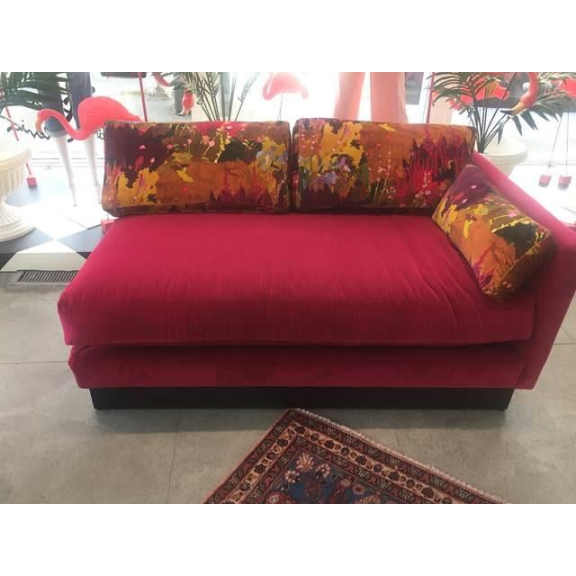 Mid Century Modern Milo Baughman Style Sectional Sofa - Image 7 of 8