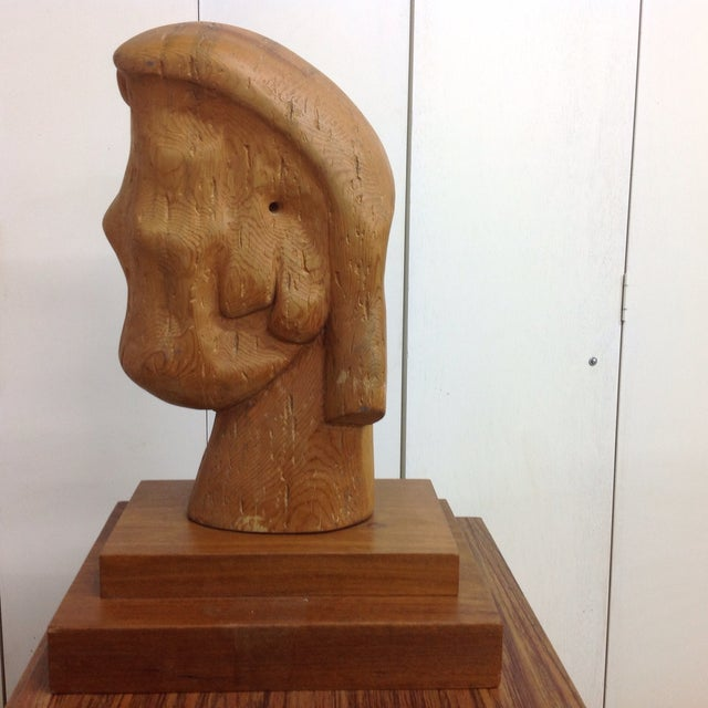 Large Goldstein Sculpture 'Head With Two Faces' - Image 5 of 5