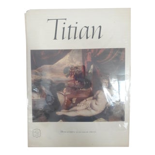 Titian Art Book by Abrams 16 Prints