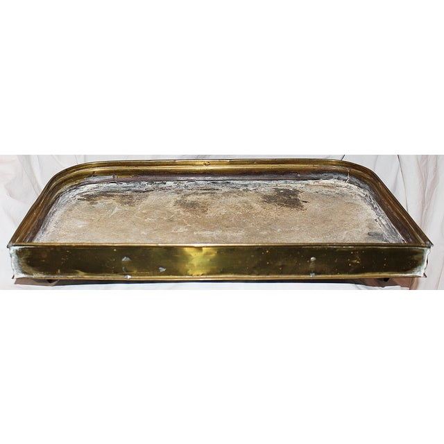 Antique Brass Planter Tray - Image 6 of 7