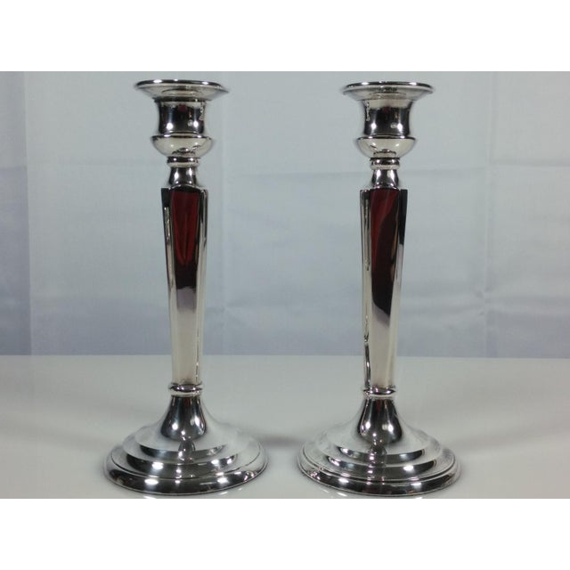 Image of Restoration Hardware Candlesticks - A Pair