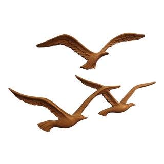 Homco Flying Seagull Wall Decor