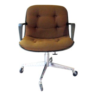 Vintage Executive Swivel Reclining Chair with Casters - Remington Rand