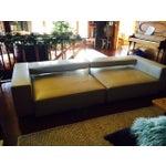 Image of B&B Italia Andy Cream Leather Sofa