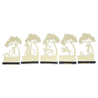 Viennese 1930s Guest Name Place Markers - S/5