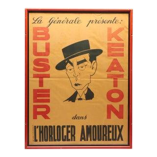 """L' Horloger Amoureux"" Movie Poster"