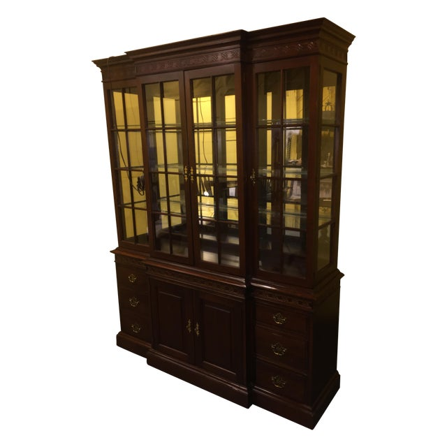 Used Kitchen Cabinets Pa: Pennsylvania House Cherry China Cabinet