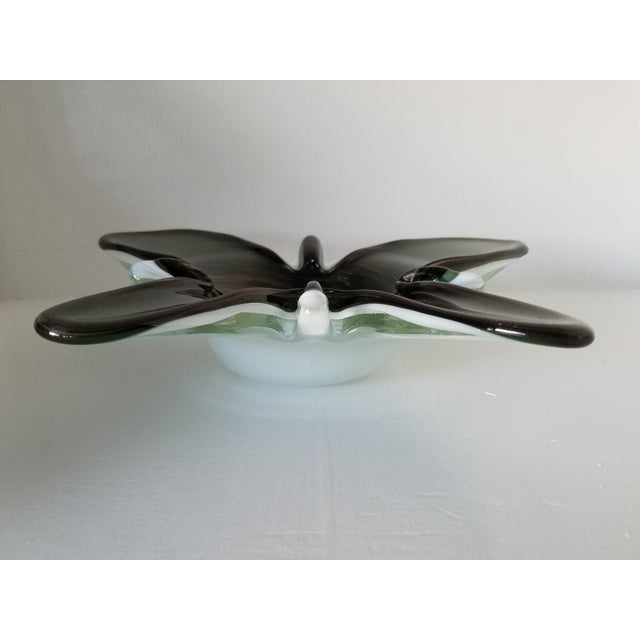 Toso Murano Butterfly Decorative Bowl - Image 4 of 6