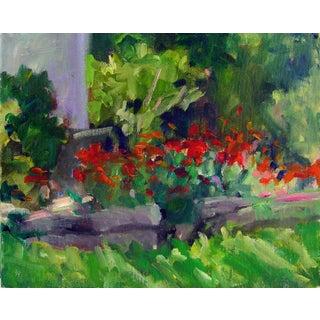 Original Painting - Plein Air Garden Study