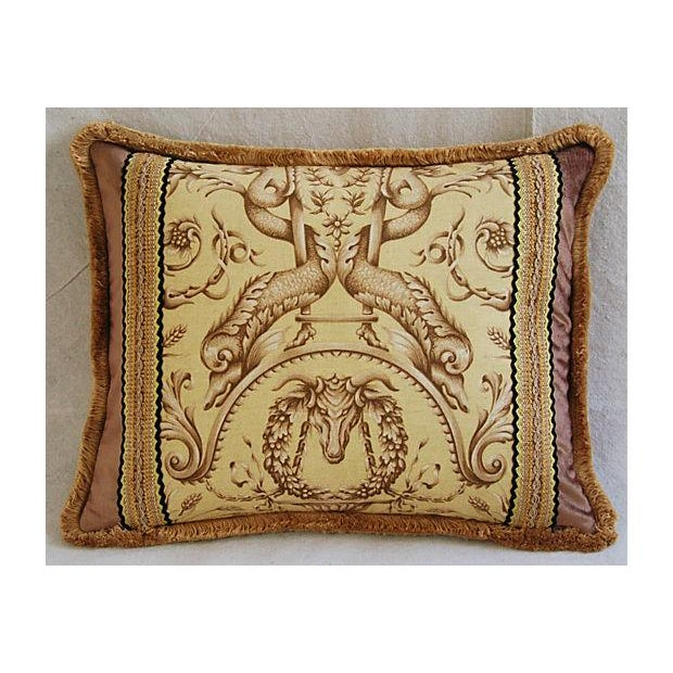Designer Braemore Mythical Creature Accent Pillow - Image 3 of 7