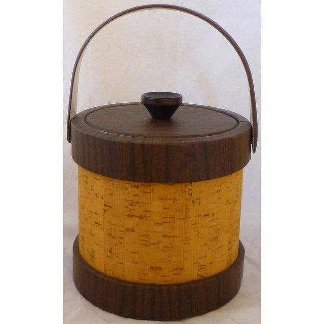Vintage Cork Ice Bucket - Image 4 of 9